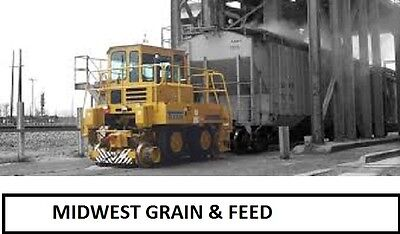 HO Trackmobile Midwest Grain & Feed