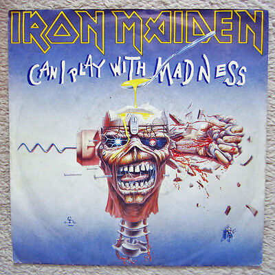 Single / IRON MAIDEN / SELTEN / 1988 / CAN I PLAY WITH MADNESS / RAR /
