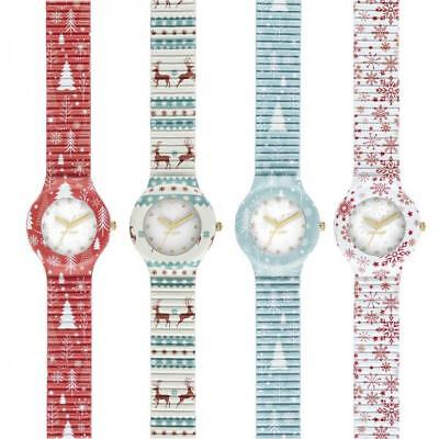 Orologio HIP HOP XMAS COLLECTION Natale Small 32mm Bianco Rosso Christmas