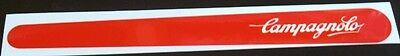 Chain guard decal - Campagnolo in White on Red
