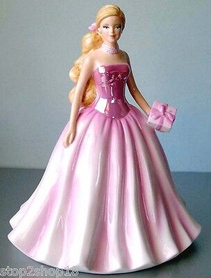Royal Doulton Barbie Birthday Wishes Figurine HN5532 Limited Edition 2011 New