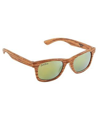 New OshKosh Baby 4 + Year Old Sunglasses Size 4 year + NWT Woodgrain Boy Classic