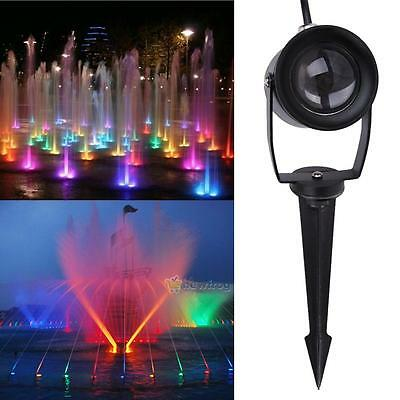 10W RGB 16 Color 9 LED Underwater Swimming Pool Light Fountains Lamp + IR Remote