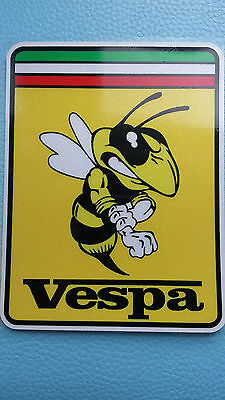 VESPA Sticker Decal Emblem Primavera GTS Sprint PX PK Cosa LX ET4 FIGHTING BEE