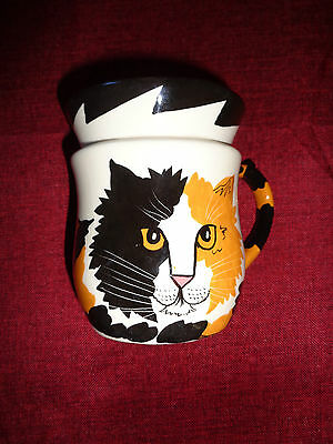 Calico Cat Coffee Cup Mug Cats By Nina  Nina Lyman