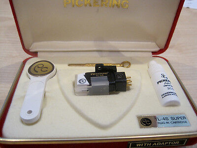 Pickering TL-4S p-mount cartridge with half inch adaptor - low hours