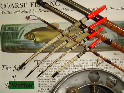 Traditional Handmade Goose Quill Fishing Float Set  Red