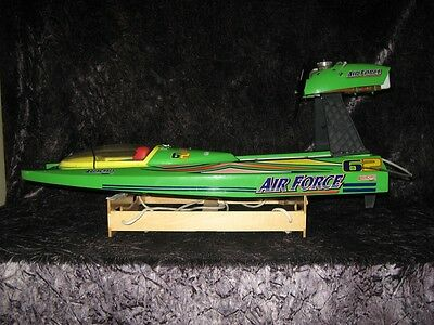Rc Hydroplane (Aquacraft)Air Force Airboat