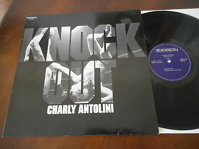 CHARLY ANTOLINI Knock Out JETON LP 1982 NM