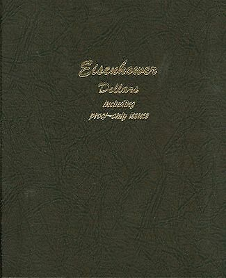 Complete Set of All 32 BU and Proof Eisenhower Ike Dollars in Dansco Album    i4