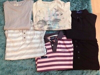 Bundle Of 6 Men's Hugo Boss fred Perry All Saints Hackett Job Lot Shirts Size S