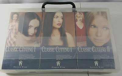 UNOPENED Graham Webb Classic Cutting I & II Hair Beauty Career VHS Course