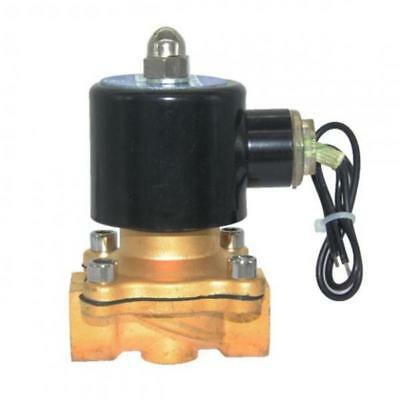 """DC24V 1/2"""" Electric Solenoid Valve Water Air Fuel Gas Normal Close 2W-160-15"""