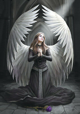 Prayer For The Fallen Greeting Card - Anne Stokes