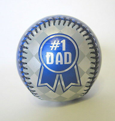 Number One Dad Baseball by Legends