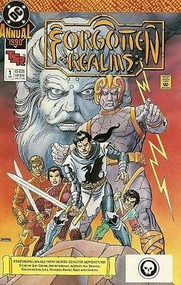 "Comic DC ""Forgotten Realms #1 Annual"" 1990 NM"