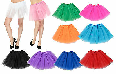 Ladies Girls Adult Ballet Dance wear Tutu Petti skirt Princess Fancy Dress Party