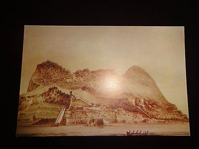 Postcard: Gibraltar, From The Bay. C.1820 L. J. Stagnetto