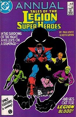 "Comic DC ""Tales of the Legion of Super-Heroes #4 Annual"" 1986 NM"