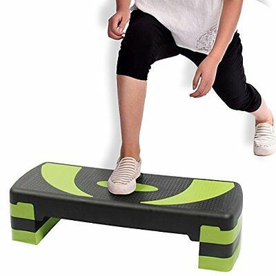 Yoga Cardio Aerobic Stepper Adjustable Level 3 Home Gym Excercise Balance Step