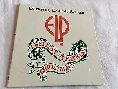 elp emerson lake palmer I Believe in Father Christmas CD 1993 Jerusalem