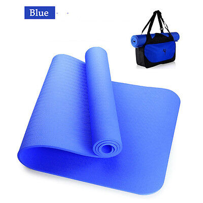"""72"""" x 24""""x 0.24"""" Thick Mat with Yoga bag Leisure Picnic Pad Exercise Fitness Gym"""