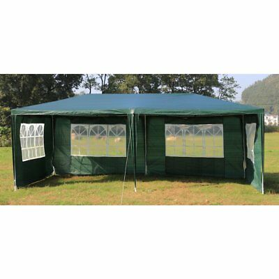 3x6m Outdoor Gazebo Marquee Tent Canopy Green
