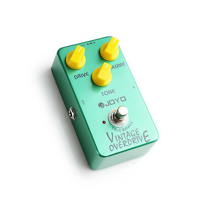 Joyo JF-01 Vintage Overdrive | Overdrive Guitar Effects FX Pedal | True Bypass