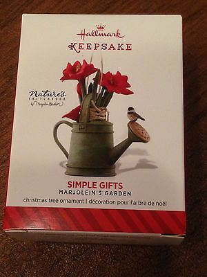 Hallmark 2014 Ornament - Simple Gifts - Nature's Sketchbook