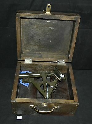 ThriftCHI ~ Vintage Sextant w Wooden Case