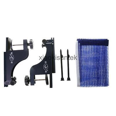 New Table Tennis Net with Post Clamp Stand Set Ping Pong Replacement