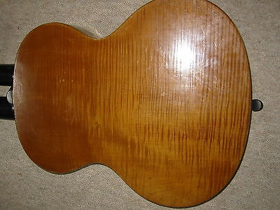 "Beautifully flamed, very old Double neck harp guitar ""Emil Lutz Schönbach"""