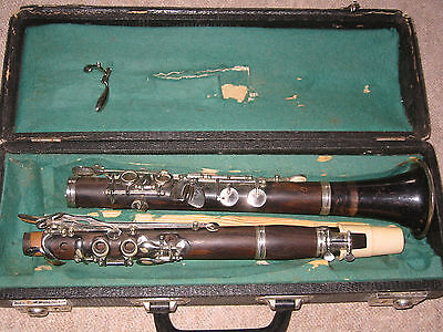 "Nice used wooden Bb Clarinet 4rings ALBERT  System, ""Keilwerth"""