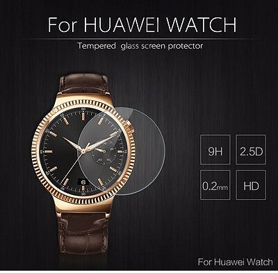 100% Tempered Glass Film Screen Protector Protective For Huawei Smart Watch L
