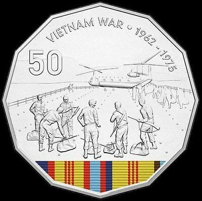 AUSTRALIA  2016 50 CENT COLOUR Vietnam War A Century of Service PNC Limited 6000