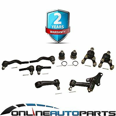Ball Joints Tie Rod Ends Idler Pitman Arm Kit fit Pajero NE NF NG 1987-1990 4X4