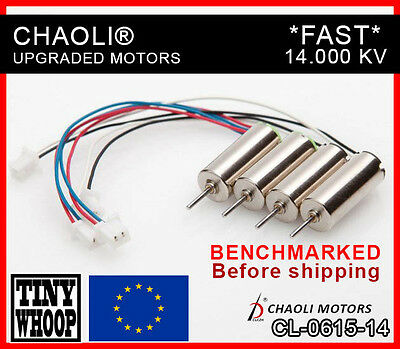 "Chaoli® ""Fast"" CL615 Tiny whoop motor inductrix / E010 CL06-15-14 *BENCHMARKED*"