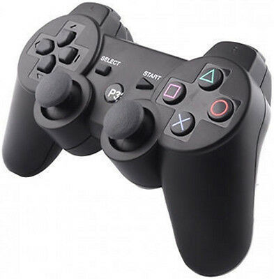 Controller For Sony Ps3 Playstation 3 Bluetooth Wireless Dual Shock Six Axis New