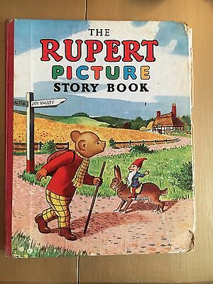 1952- Rupert Picture Story Book- Rare