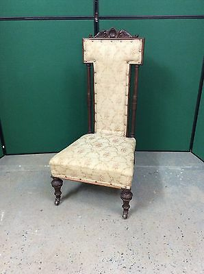 Antique Prie Dieu Chair