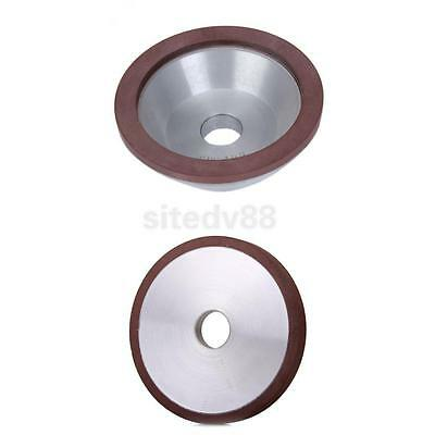 2x Overall Depth 10mm*3mm + 10mm*4mm Diamond Grinding Wheel Cup Grinder