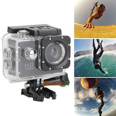 12MP Ultra HD 1080P Waterproof Action Camcorder Sports DV Camera Car Cam