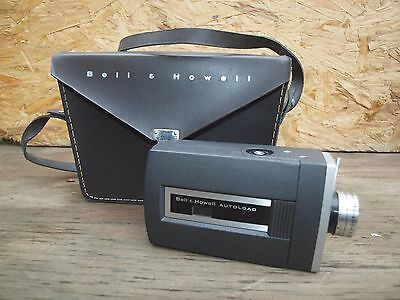 Bell & Howell Autoload Super 8 Model 430 Movie Camera w/ Case
