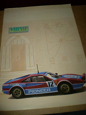 Vitesse Catalogue 1993 Limited Editions Uk Mint Condition