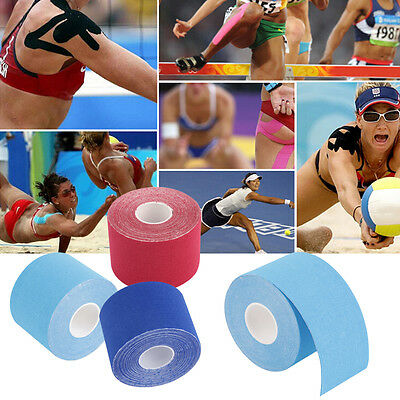 5M*5cm Kinesiology Elastic Tape Roll Sports Muscle Strain Injury Support HJ