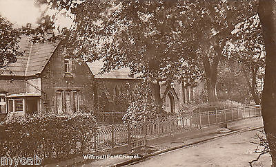 Postcard Withnell Fold Chapel near Preston Lancashire posted 1915 RP