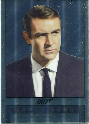 James Bond Archives 2016 Spectre Mirror Chase Card M5