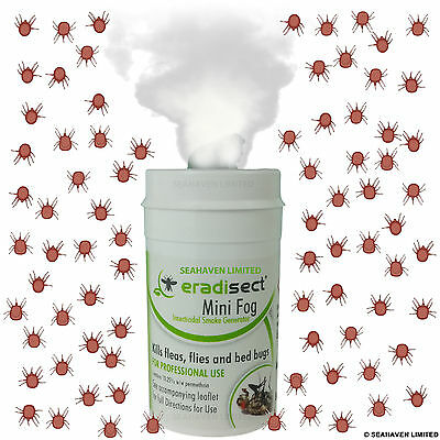 Chicken Poultry Red Mite Treatment Killer Insect Smoke Bomb - Fast Knockdown