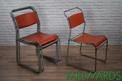 Industrial Retro Stackable Cafe Bar Chairs 30 AVAILABLE (inc VAT)