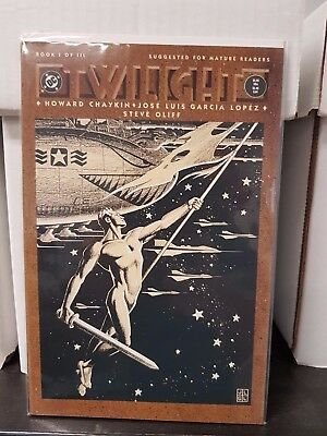 "Comic DC ""Twilight #1"" 1990 NM"